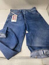 Levi's Vintage Clothing LVC 501XX 1955 Selvedge Blue Denim Jeans Mens Sz 28x34