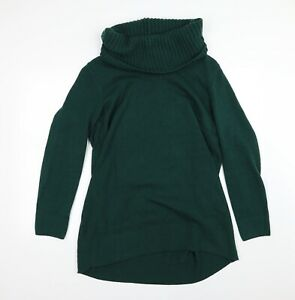 H&M Womens Green  Knit Pullover Jumper Size L