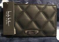 "Nicole Miller Woman's Wallet BLACK ""Cartera De Mujer Billetera Negra, Monedero"""
