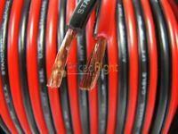 100 Ft 20 Gauge Speaker Wire Cable Car Home Audio 100' Black & Red Zip Wire