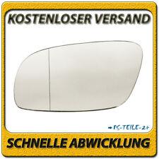 Außenspiegel Spiegelglas für VW TOURAN 2003-2009 links Fahrerseite asphärisch