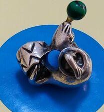 Seal But For Chain Bracelet Sterling Silver Vintage Bracelet Charm B101