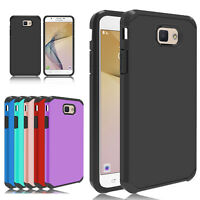 Hard Armor Hybrid Case Cover For Samsung Galaxy J7 Prime/Sky Pro/J3 Emerge/2017