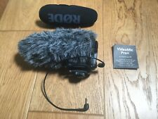 RØDE VideoMic Pro + plus Compact Directional On-camera Microphone