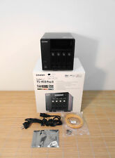 QNAP ts-459 Pro II All-in-one 4-bay Turbo NAS Server Storage Used in Original Box