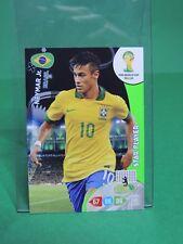 Panini #060 Neymar Jr. Star Player Fifa World Cup Brasil 2014 Adrenalyn XL