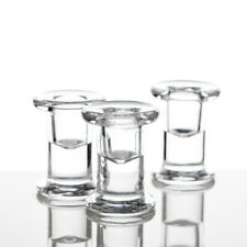 Richland Simple Glass Taper Candle Holder Set of 6 Wedding Candle Decor Events