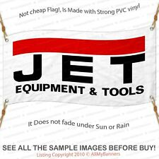 Jet Tools Equipment Vinyl Banner 2'x4' Garage or trade shows Ready Hang 13oz