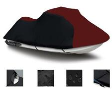 "BURGUNDY Tiger Shark TS1000R 1998 118"" Jet Ski PWC Cover 2 Seater"