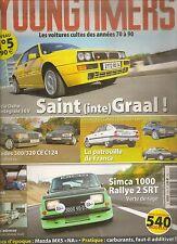 YOUNGTIMERS 5 DELTA HF INTEGRALE 16V MERCEDES 320 CE SIMCA 1000 RALLYE 2 CX GTI