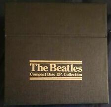 THE BEATLES BOX COFANETTO CD EP 1992 15cds UK CD BEP 14 NEAR MINT OTTIMO NO LP