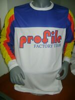 PROFILE OLD SCHOOL BIKE JERSEY CLASSIC BMX JERSEY RACE BIKE SHIRT VINTAGE XXL