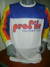 Profile Old School Bike Jersey Classic Bmx Jersey Race Bike Shirt Vintage Xl