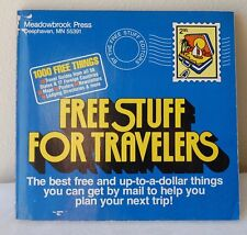 """RARE """"Free Stuff for Travelers"""" Paperback 1981 Bruce Lanksy Collectible"""