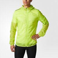Adidas Supernova TKO Flock-Print Jacket BR5626 Size M MSRP $90