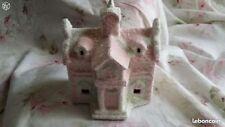 Maison de noel shabby chic rose