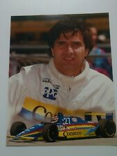 Nelson Piquet #27 Conseco Menards 1993 Indy 500 photo 11 x 14