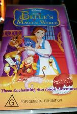 Disney's Belle's Magical World VHS VIDEO 💜 💜 💜 FAST POST