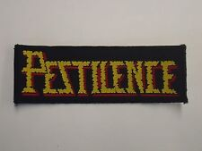 PESTILENCE DEATH METAL WOVEN PATCH
