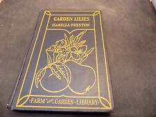 antique book Lilies