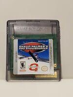 Shaun Palmer's Pro Snowboarder (Nintendo Game Boy GameBoy Color) - Tested!