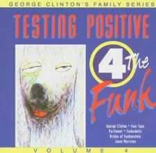 George Clinton & Family - Vol. 4 - Testing Positive 4 the Funk (AUDIO CD) NEW