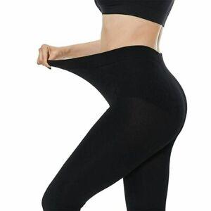 Women Ladies Thermal Fleece Winter Black Leggings Warm Soft & Cosy Fleece S-XXL