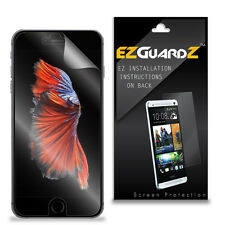 4X EZguardz Tough Screen Protector Skin HD 4X For Apple iPhone 7 (Ultra Clear)