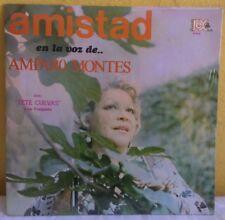 AMPARO MONTES AMISTAD EN LA VOZ DE.... SEALED MEXICAN LP BOLERO