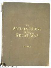 Original Edwin Forbes An Artist's Story of the Great War 1890 Vol. I