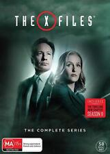 THE X-FILES 1-11 1993-2018 COMPLETE Mulder + Scully TV Season Series NEW R4 DVD