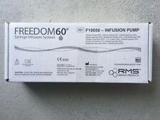 Freedom 60 Syringe Infusion Pump F10050 New Unopened Box