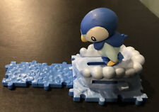 Pokemon Diamond & Pearl Attack Bases Piplup Figure Series 1 Complete (B3)