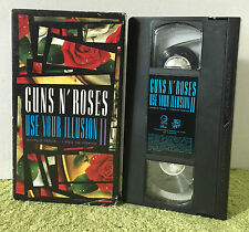 Guns N Roses Use Your Illusiion II World Tour 1992 In Tokyo VHS Video