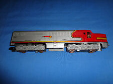 American Flyer #21927 Santa Fe Alco PA Unit. Runs Well. Excellent Minus