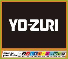 "9"" Fishing Yo-Zuri fish tackle Vinyl Decal Sticker window Car Truck boat"