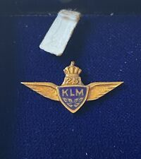 KLM 25 Year Service Pin