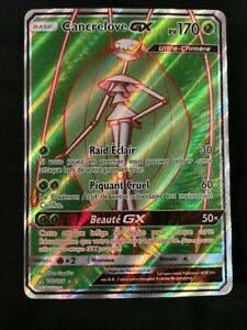 Cancrelove GX Full Art -SL05:Ultra Prisme-140/156 -Carte Pokemon Neuve Française