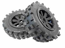 1/5 MadMax Giant Grip Monster Tires on Rims (2) LOSI 5IVE T DBXL KM X2 Rovan LT
