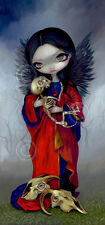ART PRINT - I Vampiri Angelo Della Morte by Jasmine Becket-Griffith 14x11 Poster
