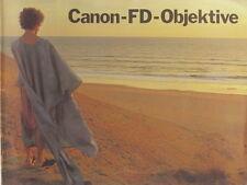 Canon-FD-Objektive Bedienungsanleitung instruction manual german - (0855)