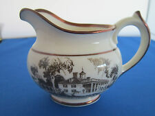 Lenox Architects's Tea Set Creamer 1933  Mount Vernon