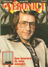 VERONICA 1976 nr. 30  - LEE TOWERS / FOX (KENNY YOUNG) / DAVID McCALLUM / TOP 40