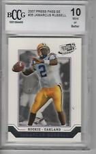 JaMarcus Russell 2007 Press Pass SE #35  BCCG 10