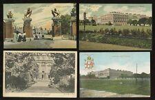 ROYALTY HAMPTON COURT PALACE 4 VINTAGE POSTCARDS 1905-1930