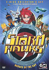 STORM HAWKS - Collector's Set: Heroes Of The Sky 2-Disc DVD Set NEW