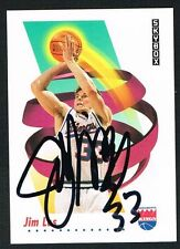 Jim Les #247 signed auto autograph 1991-92 SkyBox Basketball Trading Card