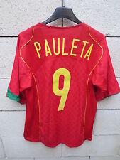 VINTAGE Maillot PORTUGAL Nike PAULETA n°9 camiseta jersey shirt football S