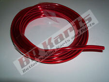 7 ft. Red Fuel Gas Line Hose Tube for Go Kart, ATV, Minibike, Cycle, Dirt Bike