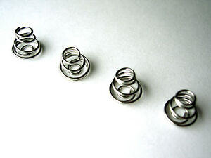 AA / AAA Replacement Battery Terminal Contact Springs - set of 4